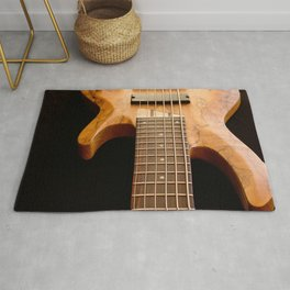 Music is a Moral Law ~ Bass Guitar Rug