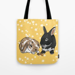 Eva and Alvis Tote Bag