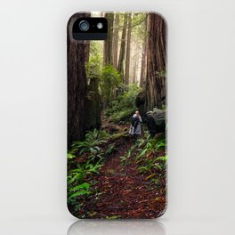 Forest of the Giants iPhone Case