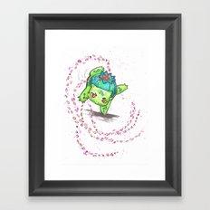 Petal dance 2 Framed Art Print