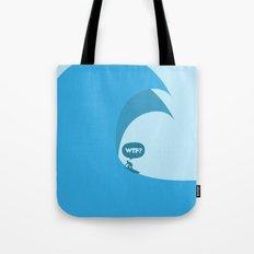 WTF? Surf! Tote Bag