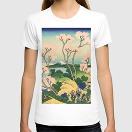 Fuji from Goten-Yama (High Resolution) T-shirt