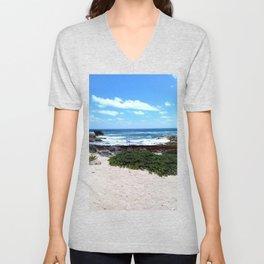 Coast of the Beach Unisex V-Neck