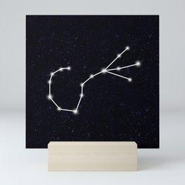 Scorpio Constellation Mini Art Print
