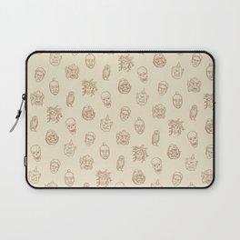 Little Monsters (ivory) Laptop Sleeve