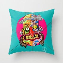 AscoltoPensaRidi Throw Pillow
