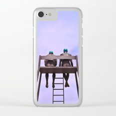 The Philosophy Of Life Clear iPhone Case