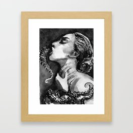Tentacle Framed Art Print