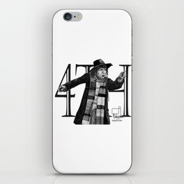 4th Doctor iPhone Skin