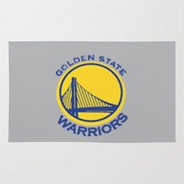 Golden State Wariors Grey Rug