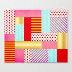 Geometric Pop Canvas Print