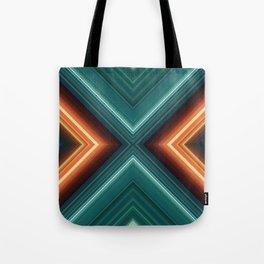 Cyberpunk Garden Tote Bag