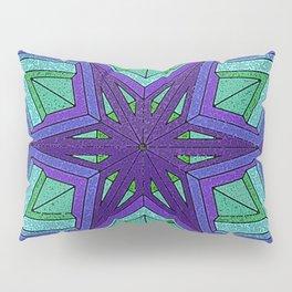 Star Violets Pillow Sham