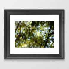 blur of life Framed Art Print