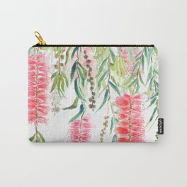 bottle brush tree flower Carry-All Pouch