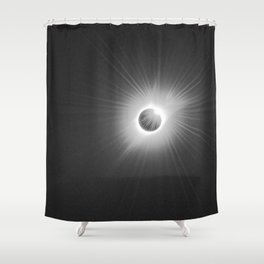 Solar Eclipse -2017 Shower Curtain