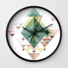 Abstract illustration Wall Clock