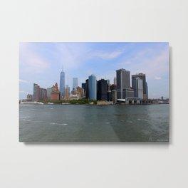 New York Strong Metal Print