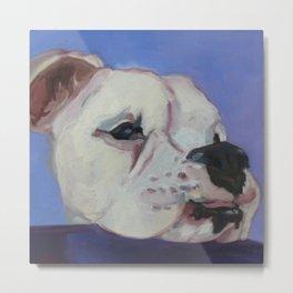 Boxer Dog Horton Metal Print