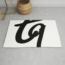 tq logo Rug