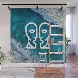Is there any body out there? (designer) Wall Mural