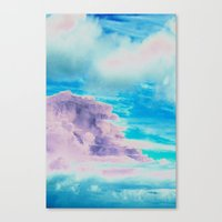 cloud Canvas Prints featuring Cloud by Amy Sia