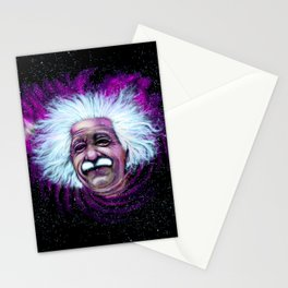 Albert Einstein Nebula Stationery Cards