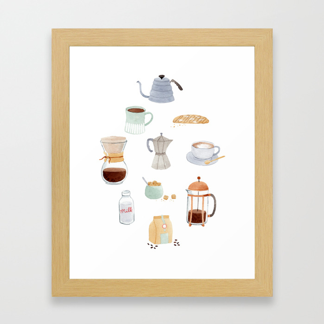Kitchen Art Printables Collection Sale Instant Download: Kitchen Framed Art Prints
