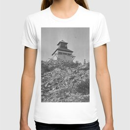 Bolan Mountain Lookout Tower, Siskiyou Forest, California , 1919 T-shirt