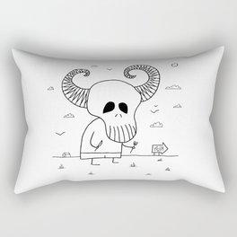 Death Pizza Party Rectangular Pillow