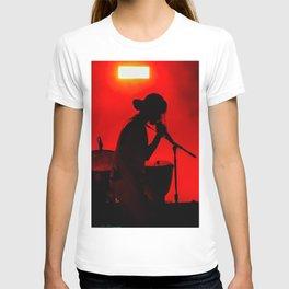 Rock Concert Silhouette T-shirt