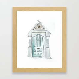 rathmines road Framed Art Print