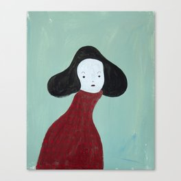 My Red Sweater Canvas Print