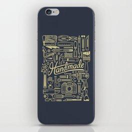 Make Handmade - Navy iPhone Skin