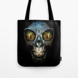 ALIEN NIGHTMARE Tote Bag