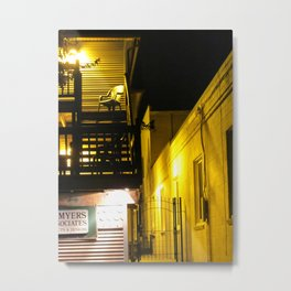 The Night Is So Alone Now Metal Print