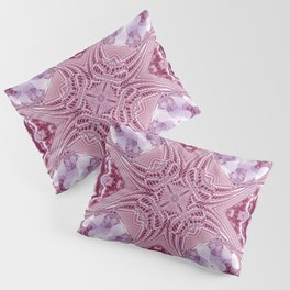 Purple Magnetism Pillow Sham