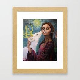 Goddess Artemis Framed Art Print
