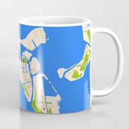 Venice Italy Map design - Venazia Italia Coffee Mug