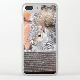 Rough day Clear iPhone Case