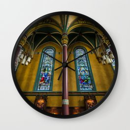 Cathedral Of The Madeleine - Utah Wall Clock