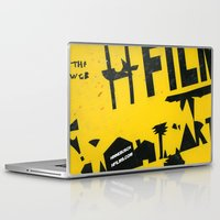 2001 Laptop & iPad Skins featuring hfi SIGN 2001 by David Hinnebusch