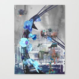 Urban growth Canvas Print