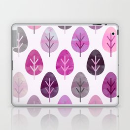Watercolor Forest Pattern #3 Laptop & iPad Skin