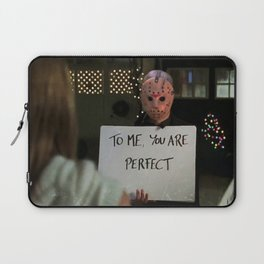 JASON VORHEES IN LOVE ACTUALLY Laptop Sleeve