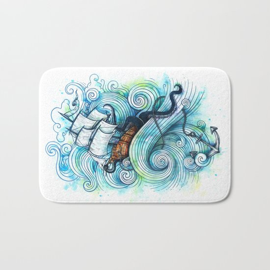 Long Journey Bath Mat