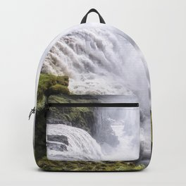 Gullfoss Waterfall Iceland Backpack