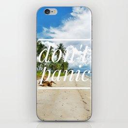 Motus Operandi Collection: Don't panic iPhone Skin