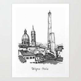 Bologna, Italy Art Print