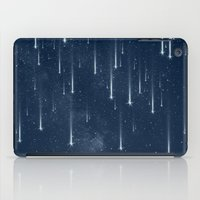 stars iPad Cases featuring Wishing Stars by Paula Belle Flores